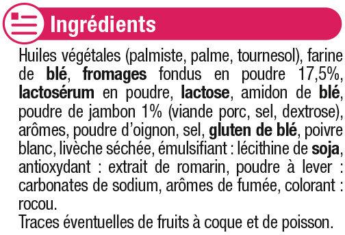 Gaufrette saveur croque monsieur - Ingredients