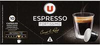 Café espresso fortissimo - Product - fr