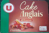 Cake anglais - Produit - fr