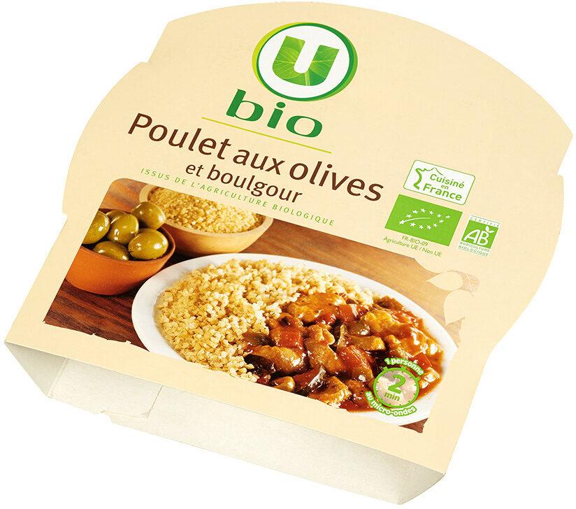 Poulet aux olives et boulgour - Produit - fr