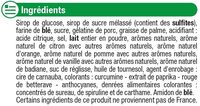 Assortiment gélifiés au réglisses - Ingredients