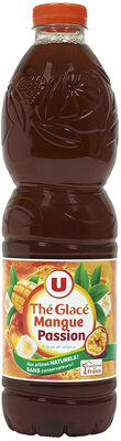 Boisson au thé glacé saveur mangue passion - Produit