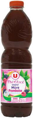 Boisson au thé glacé saveur mûre framboise - Produit - fr