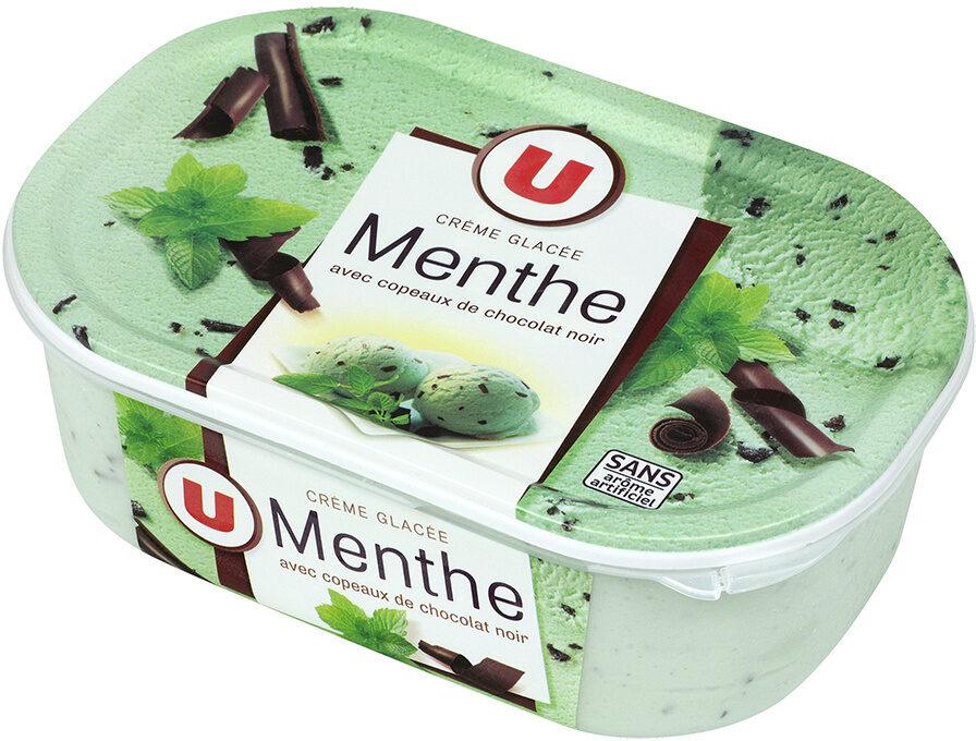 Crème glacée menthe chocolat - Product