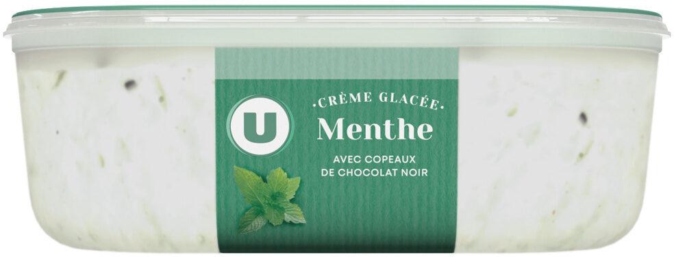 Crème glacée menthe chocolat - Product - fr