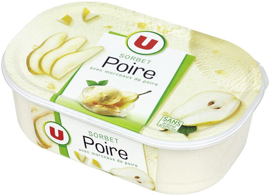 Sorbet poire - Produit