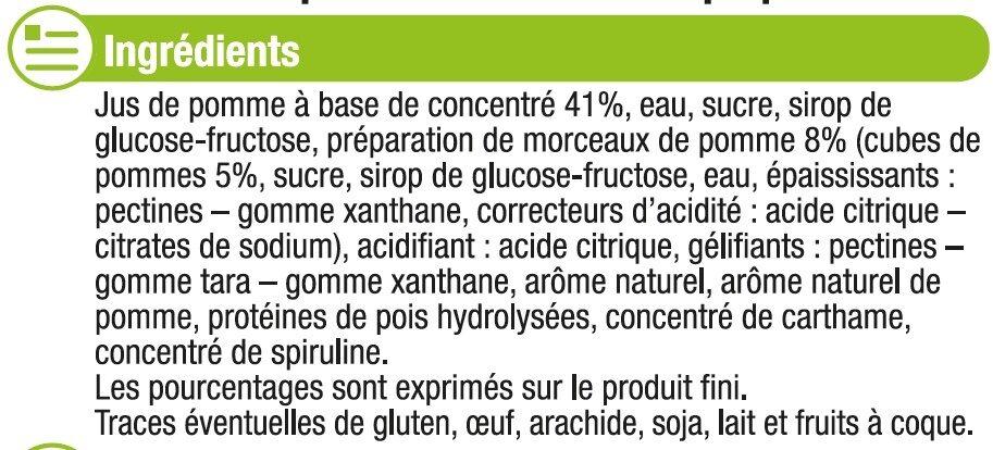 Sorbet pomme - Ingrédients - fr