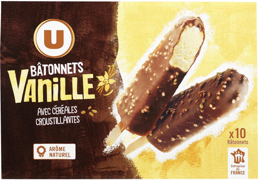 Bâtonnets vanille avec céréales crousitllantes - Product - fr