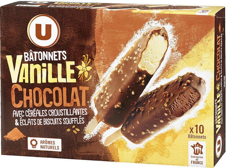 Bâtonnets vanille et chocolat - Product