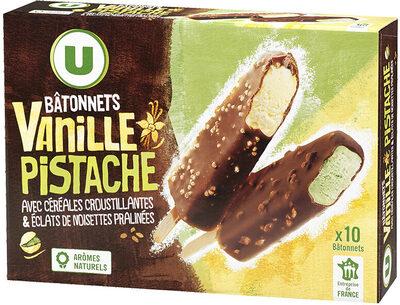 Bâtonnets Vanille Pistache - Product