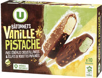 Bâtonnets Vanille Pistache - Produit