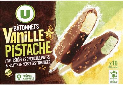 Bâtonnets Vanille Pistache - Product - fr