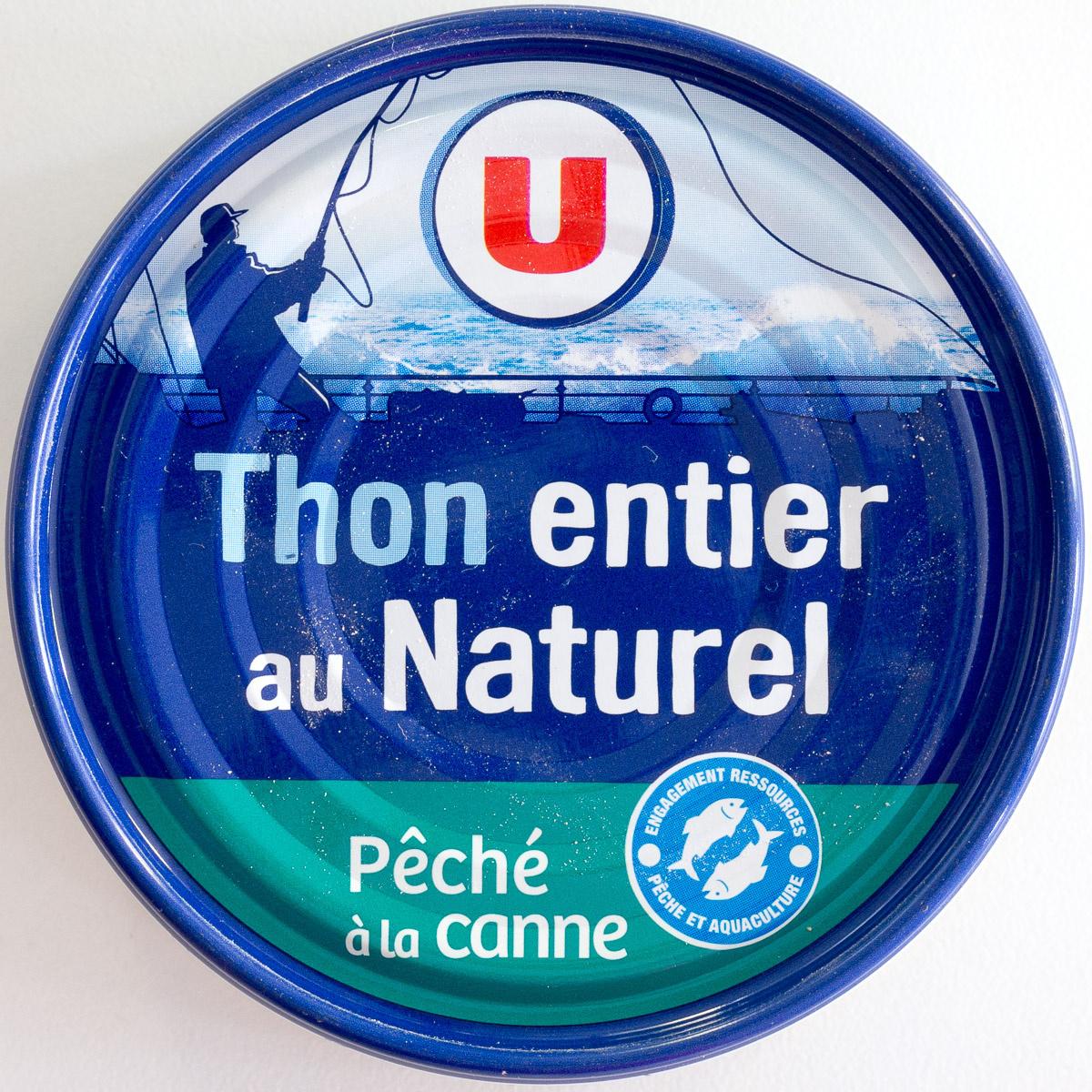 Thon entier au Naturel, Pêché à la canne - Product