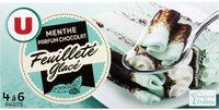 Feuilleté glacé menthe chocolat - Produit - fr