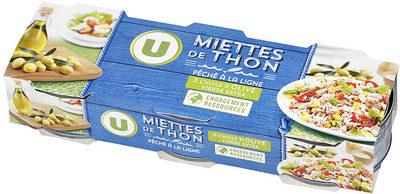Miettes de thon à l'huile d'olive pêché à la ligne - Prodotto - fr