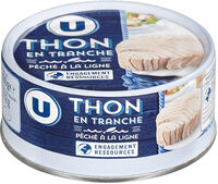 Thon en tranche naturel pêché ligne - Produit