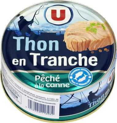 Thon en tranche au naturel pêché à la ligne - Prodotto - fr