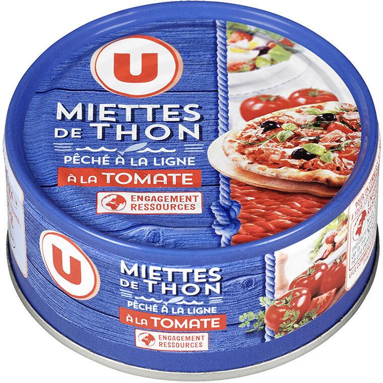 Miettes thon à la tomate pêché ligne - Product - fr