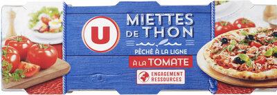 Miettes de thon tomate pêché canne - Product - fr