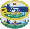 Thon entier à l'huile de tournesol pêché canne - Product