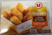 20 nuggets poulet U - Product