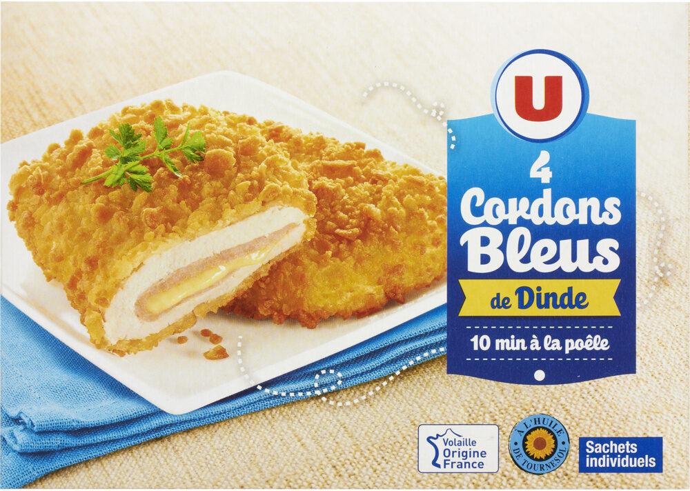 Cordon bleu de dinde - Produit - fr