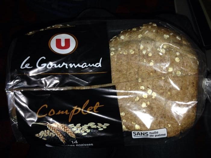 Pain de mie gourmand complet - Product