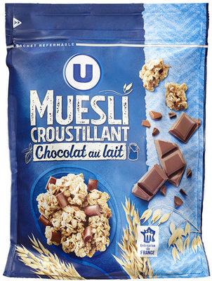 Muesli croustillant au chocolat au lait - Product