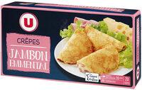 20 Crêpes jambon fromage - Produit - fr