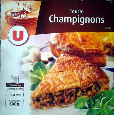 Tourte Champignons - surgelée 500 g - Produkt - fr
