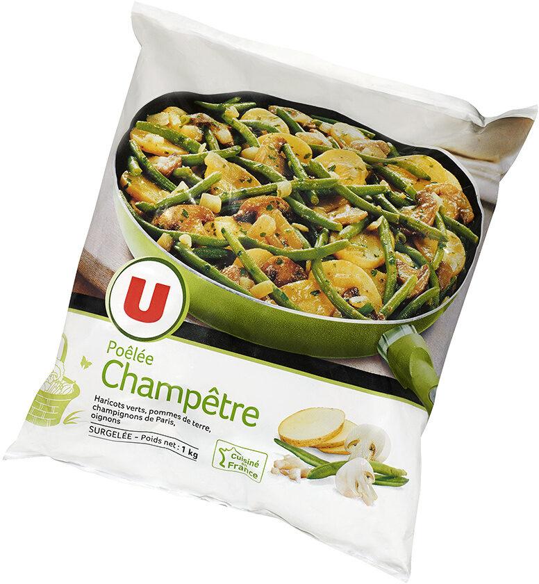 Poêlée champêtre aux légumes, pommes de terre et champignons de Paris - Product