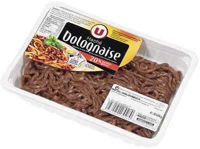 Viande hachée bolognaise, 20% MAT.GR. - Produit - fr
