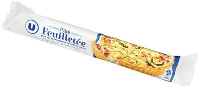 Pâte à tarte feuilletée ronde prête à dérouler - Produit - fr