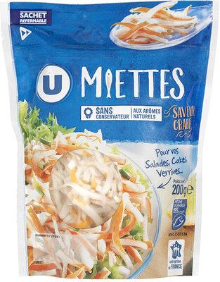 Miettes à base de chair de poisson saveur crabe - Product - fr