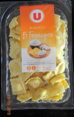 Ravioli, aux oeufs frais,  5 fromages - Product - fr