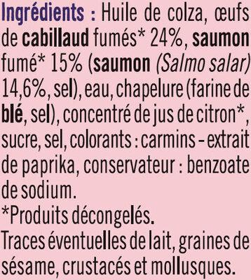 Tarama Au Saumon Fumé - Ingrediënten - fr
