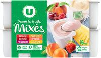 Yaourts brassés sucrés à la pulpe de fruits - Produit - fr