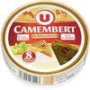 Camembert au lait pasteurisé 20%MG - Product