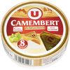 Camembert au lait pasteurisé, 20%MG - Product