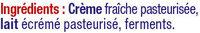 Crème fraîche épaisse 30%mg - Ingredients - fr