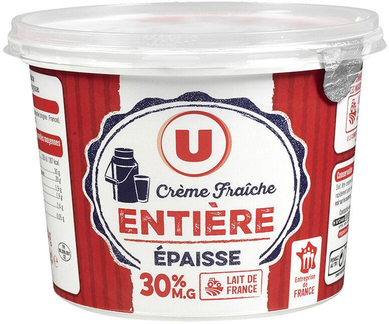 Crème fraîche épaisse 30%MG - Product