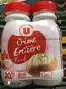 Crème Entière Fluide (30% MG) - Produit