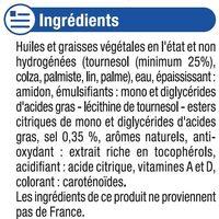Matière grasse allégée au tournesol 50%MG - Ingrediënten - fr