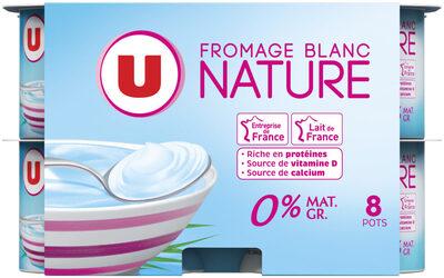 Fromage frais 0%MG - Produit - fr
