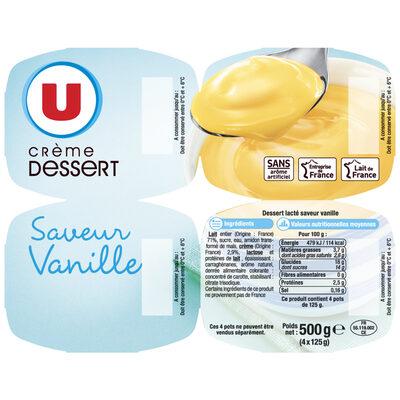 Crème dessert Saveur Vanille - 11