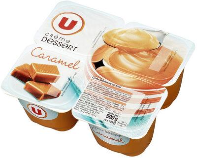 Crème dessert saveur caramel - Produit