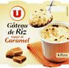 Gâteaux de riz nappés de caramel - Product