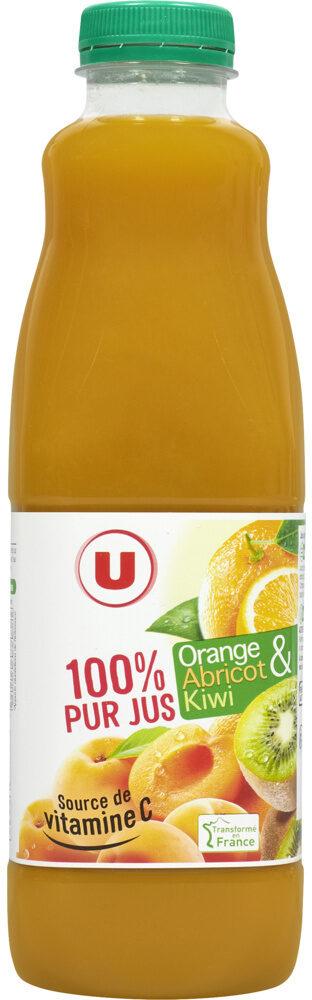 Pur jus orange et Fruits orange abricot kiwi - Produit - fr