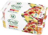Yaourt aux morceaux de fruits panachés - Product