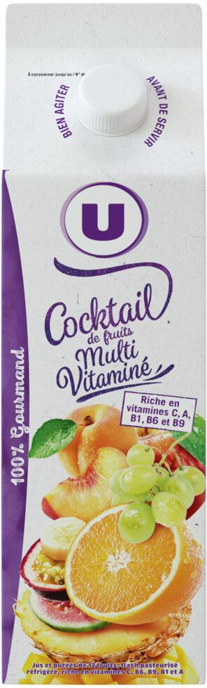 Pur jus cocktail multifruits - Produit
